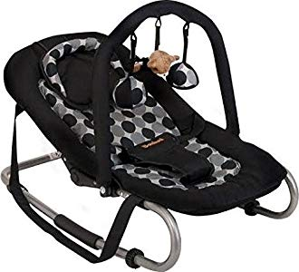 Baninni 5420038782733 Negro mecedora y silla para bebés – mecedoras y sillas para bebés Opiniones, estupenda sillita para bebes