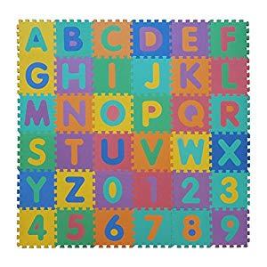 VeloVendo Alfombra Puzzle Infantiles con Certificado CE & TÜV | Suelo de espuma EVA | Tapete de Juego | Alfombra suave para Bebé | Manta Juegos Opiniones, Muy buena compra