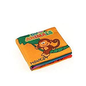 Bobury Suave Libros de paño Rustle Sound Infantil Early Learning Educational Stroller Rattle Toy Opiniones, Fantantiscos libritos