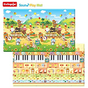 Dwinguler Playmat Large Music Parade Opiniones, Buena compra
