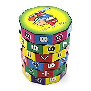 VANKER Regalo de Navidad de juguetes educativos para niños Mini matemáticas de enseñanza aprendizaje de juguete Opiniones, Rompecabezas numérico