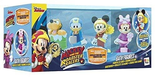 Mickey Mouse Imc Toys 182776 – Preescolar Pack 4 figuras baño Mickey Opiniones, Tal y como se muestra