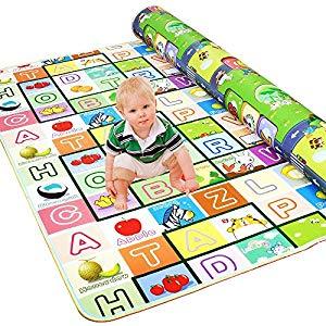 Golden Rule Alfombra para niños para jugar con bebés y bebés Juego de lados a prueba de agua y diseño de alfabeto 200X180CM Opiniones,