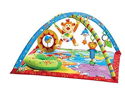 Tiny Love Jumbo Spiele T1201075782 Gymini – Alfombra de juegos con móvil para bebé Opiniones, Servicio post venta excelente
